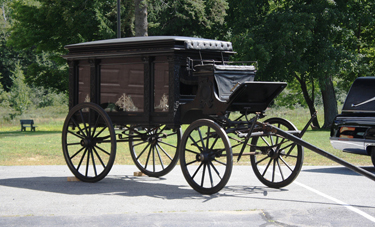 Jaffrey's Horse-Drawn Hearse
